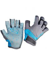Mitaines ION - Amara Half Finger - Blue/Grey