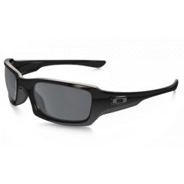 Lunette Oakley - Fives Squared Polished Black/Black Iridium Polarized