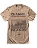 Tee-Shirt Channel Islands Rincon 74 2015 Brown