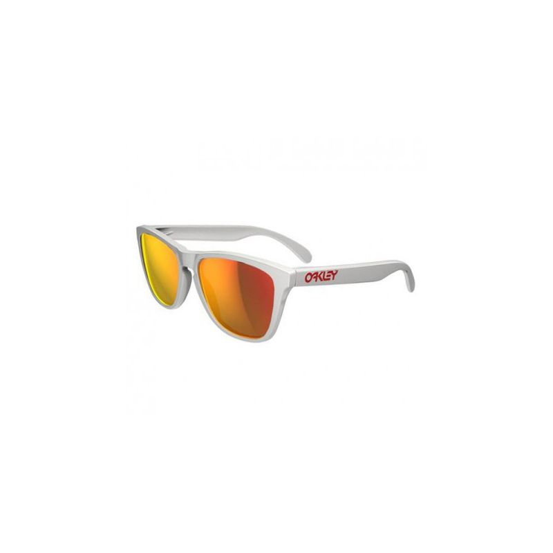 Oakley Polished White Frogskins Gallo