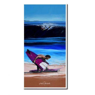 Tableau Remi Bertoche - Impression sur toile - 11