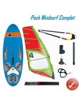 Pack Windsurf Bic Techno Dérive et Gréement Gasstra Pilot