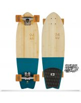 "Skate Globe Sun City 30"" - Half Dip Bamboo"