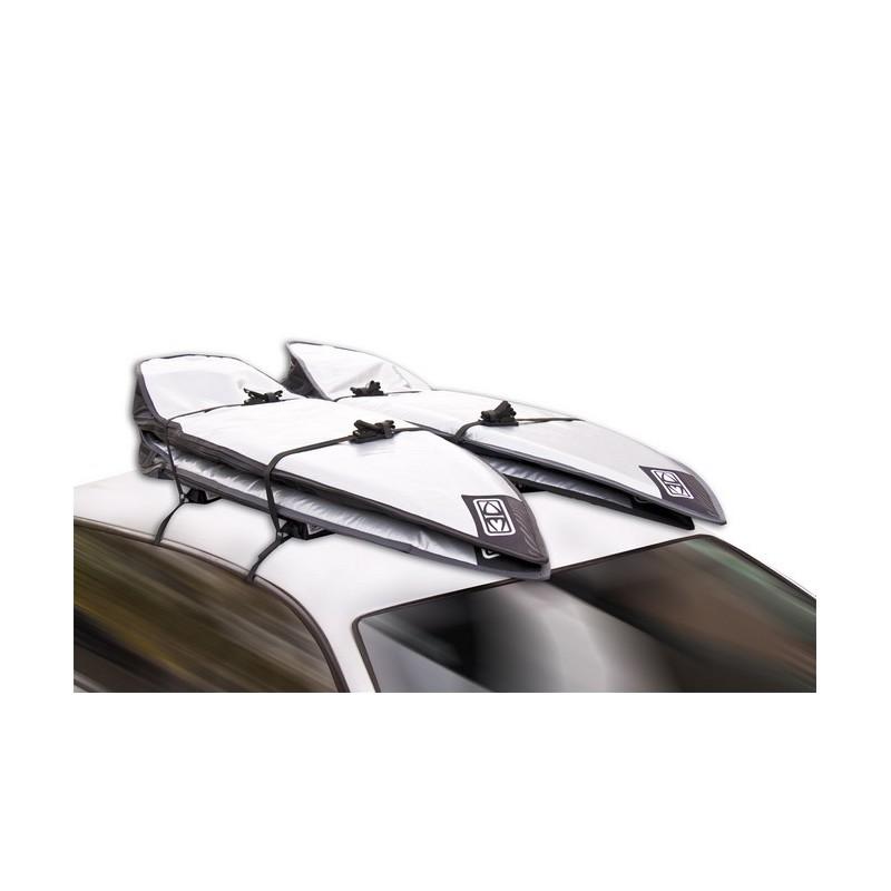 barre de toit fcs double soft racks fcs transports. Black Bedroom Furniture Sets. Home Design Ideas