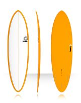 Surf Torq - Mod Fun Color Pinline - White/Orange