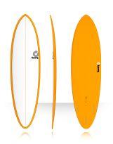 Surf Torq - Mod Fun Color Pinline - White/Orange