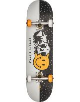 Skate Globe - Outta This World Mid 7.625' - White Black