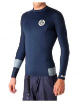 Top Rip Curl Aggrolite 1.5 mm L/SL Manches Longues Navy