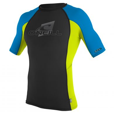 Lycra O'neill Manches Courtes - Blue Lime
