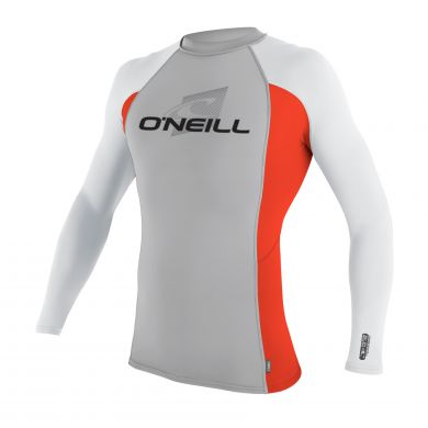 Lycra O'neill Manches Longues - Lunar Neon Red