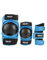 Pack Bullet Junior - Coudières, Genouillères, Poignets Blue