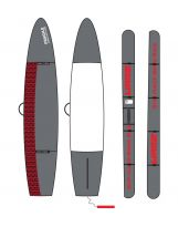 Housse SUP - Side On Race - Pro Luxe 8mm