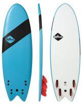 Surf Softech Handshaped 5'4 Quad Softboard