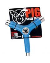 Tool Skateboard Pig Blue