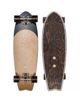 "Skate Globe - Sun City 30"" - Black Burle & White Pearl"