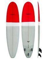 Surf Modern - BlackBird - Red/Gry