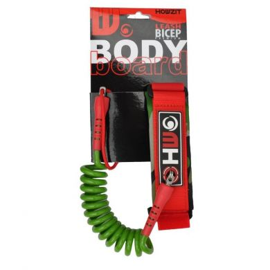Leash bodyboard Howzit - Camo/Red