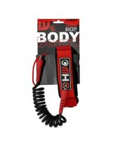 Leash bodyboard Howzit - Black/Red