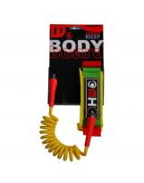 Leash bodyboard Howzit - Yellow/Red