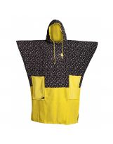 Poncho All In - V Poncho Flash Line - Print Yellow