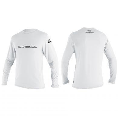 Lycra O'neill Manches Longues - Basic Skins L/S - Sun Shirt - White