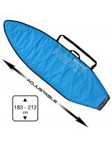 Housse Shortboard et Fish - Ajustable de 6' à 7'