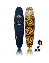 Surf en mousse SurfWorx - Banshee Mini Mal 7'6 - Mid/Blue