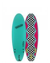 Surf Odysea - The Log 6'0 - Turquoise/80's steeze