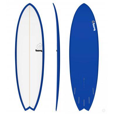 Surf Torq - Mod Fish Pinline - White/Navy Blue