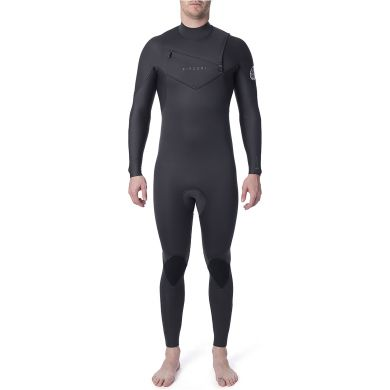 Combinaison Rip Curl - Dawn Patrol Perf 4/3 mm Chest Zip - Charcoal 2020