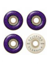set de 4 Roues Spitfire Classic purple 99a 58mm