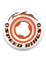 set de 4 roues Ricta speedrings 101a White Orange 51mm