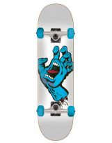 Skate Santa Cruz 28.5 x 31.8 - Screaming - white Blue