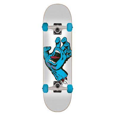 Skate Santa Cruz Mic 28.5 x 31.8 - Screaming - white Blue
