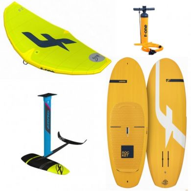 PACK F-ONE WING - Swing 4'2m² - Rocket SUP - Foil Gravity 1800