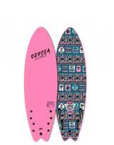 Surf Odysea - Jamie O'Brien Pro - Skipper Quad 6'0 - Hot Pink 2020