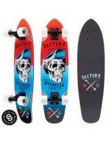 Longskate Sector 9 - Hair Barrel Red 27.5'