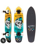 Longskate Sector 9 - Hair Barrel Yellow 27.5'