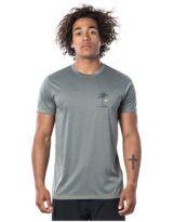 T-shirt UV - Rip Curl Black Hale/Driven - Green Marle