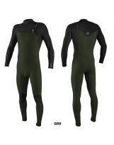 Combinaison O'neill - Hyperfreak 4/3+ Chest Zip Full - Ghost Green/Black - 2021