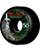set de 4 roues Powell Peralta 56mm Skull & Sword Black
