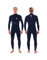 Combinaison Rip Curl - Flash Bomb 4/3 mm Zip free - Navy/Red 2021