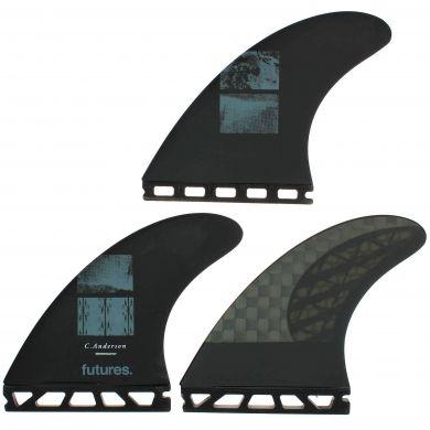 Dérives Futures Fins - VII Ando blackstick 3.0 black signature - Thruster