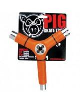 Tool Skateboard Pig Orange