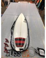Surf Al Merrick Black and White 6'4