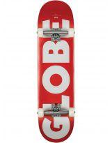 Skate Globe - G0 Fubar - Red /White
