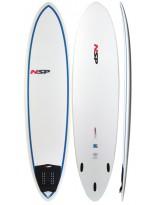 Surf NSP Epoxy E2 Funboard 7'2