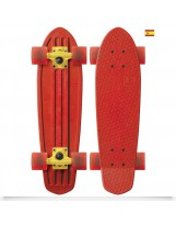 Skate Globe Bantam Patriot Red Yellow Clear Red