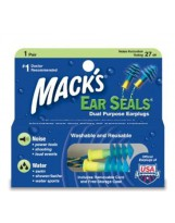 Bouchon D'oreille Mack's Ear Seals plugs