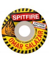 Roues Spitfire Salazar Caution 99a 53mm
